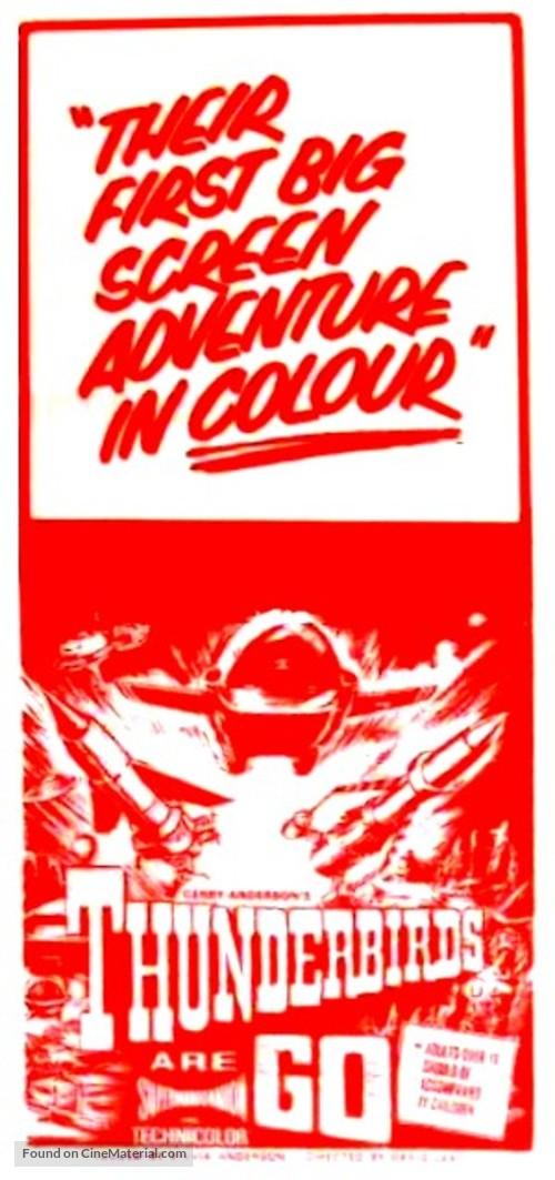 Thunderbirds Are GO - Australian Movie Poster