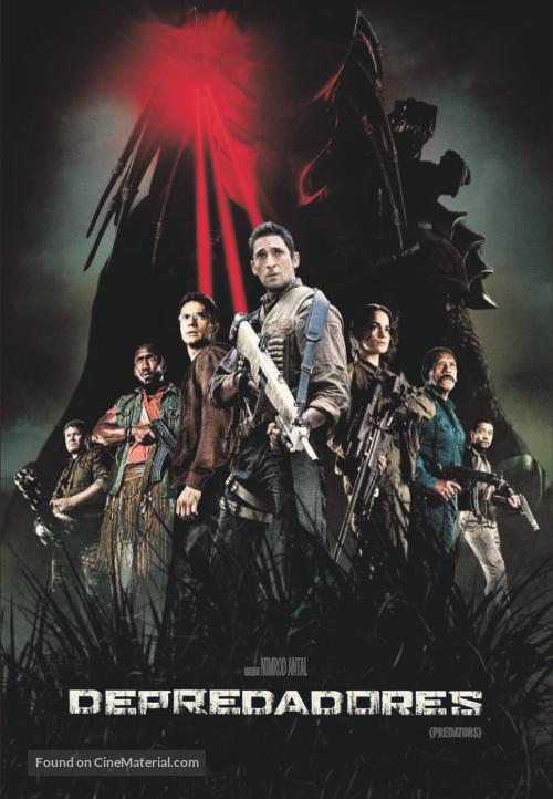 Predators - Argentinian Movie Cover