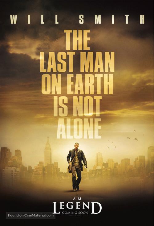 I Am Legend - Movie Poster