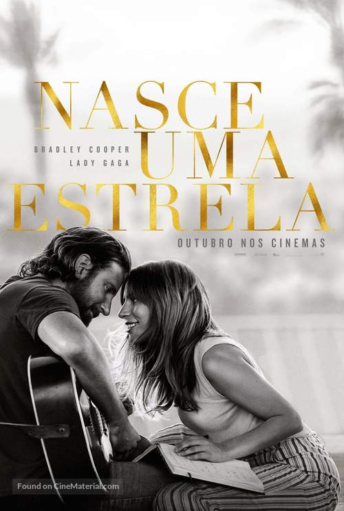 A Star Is Born - Brazilian Movie Poster