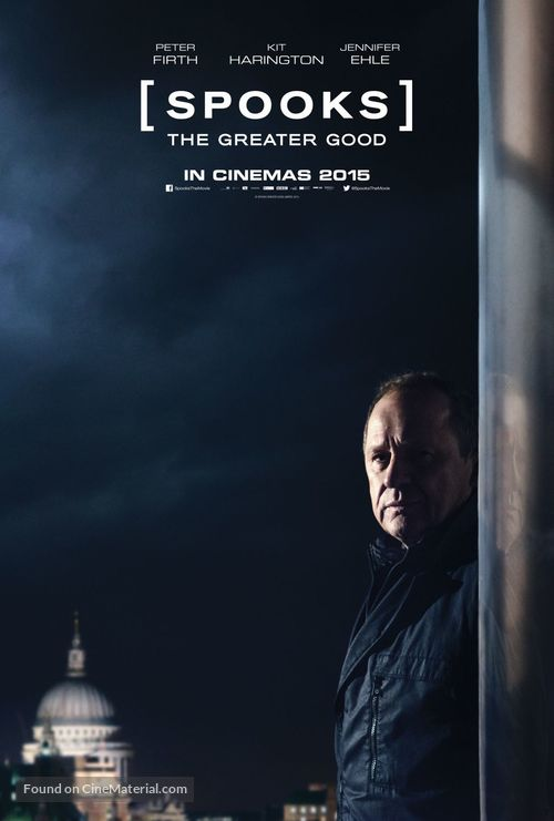 Spooks: The Greater Good - British Movie Poster