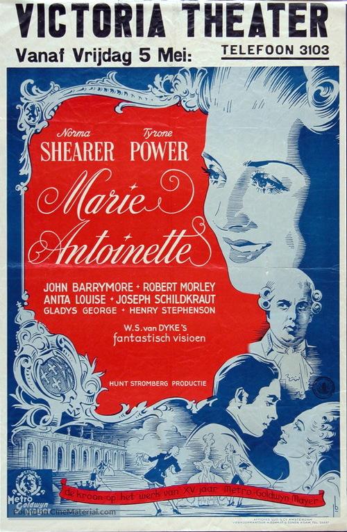 Marie Antoinette - Dutch Movie Poster