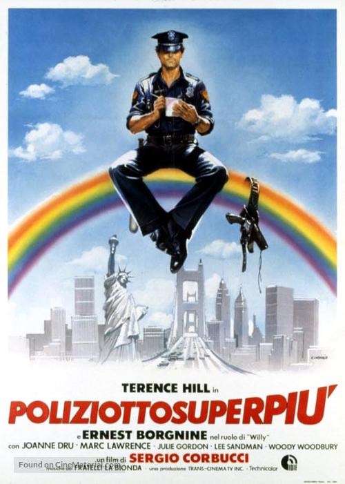 Poliziotto superpiù - Italian Movie Poster