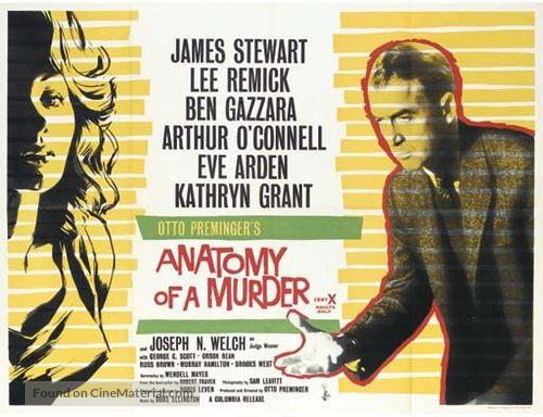 Anatomy of a Murder - British Movie Poster