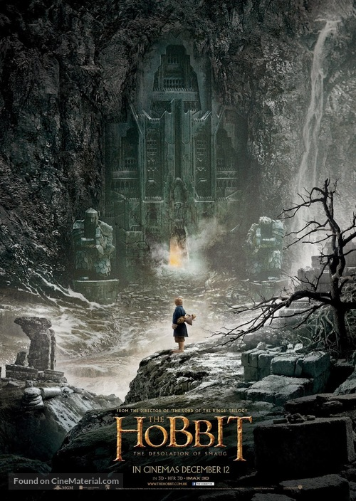 The Hobbit: The Desolation of Smaug - Hong Kong Movie Poster