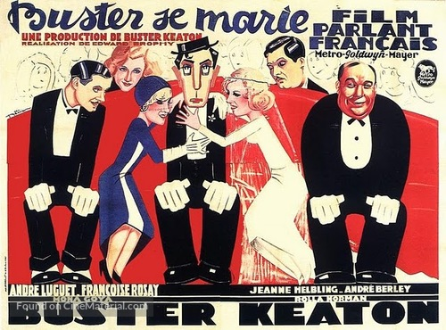 Parlor, Bedroom and Bath - French Movie Poster