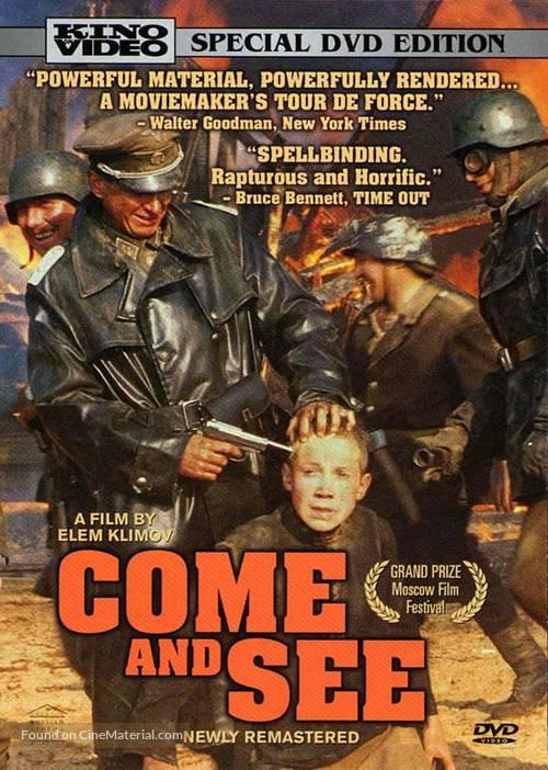 Idi i smotri - DVD movie cover