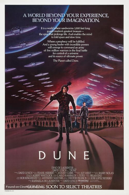 Dune - Advance poster