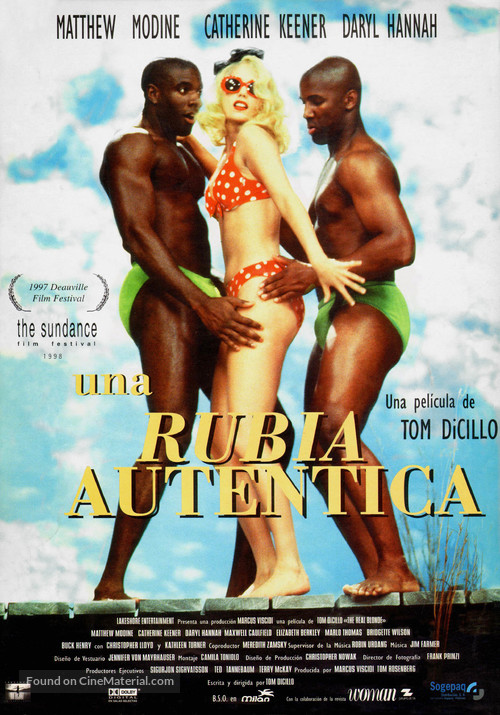 The Real Blonde - Spanish Movie Poster