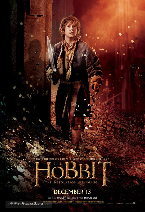 The Hobbit: The Desolation of Smaug - Movie Poster