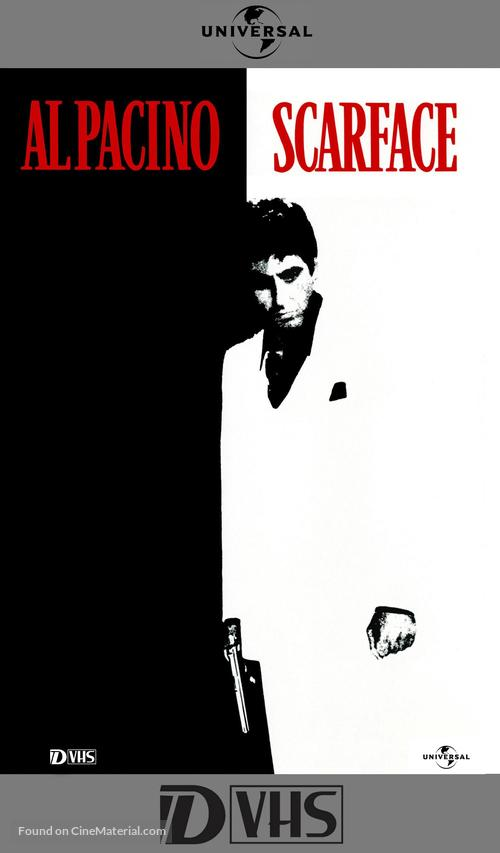Scarface - VHS cover