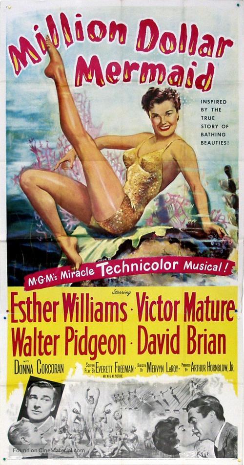 Million Dollar Mermaid - Movie Poster