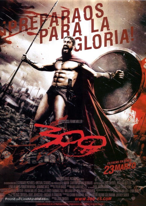 300 - Spanish Movie Poster