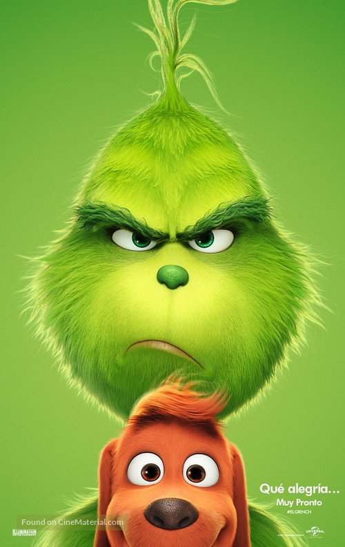 The Grinch - Argentinian Movie Poster