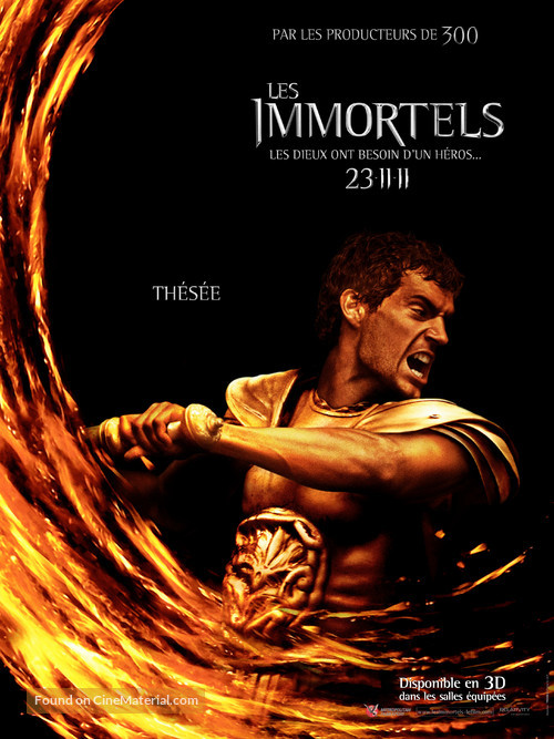 Immortals - French Movie Poster
