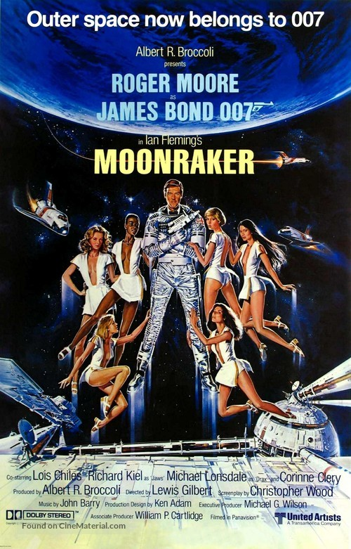 Moonraker - Movie Poster