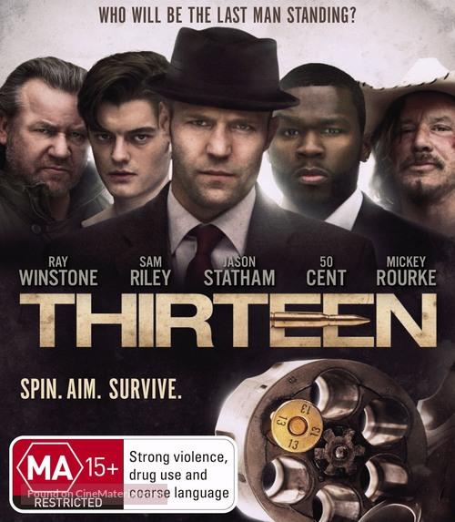 13 - Australian Blu-Ray cover