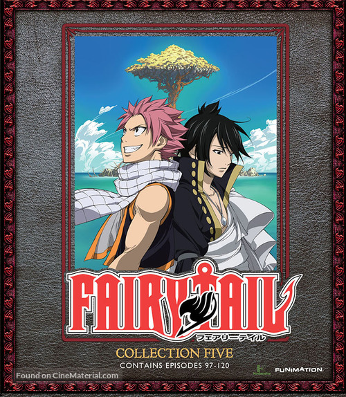 """Fairy Tail"" - Blu-Ray movie cover"