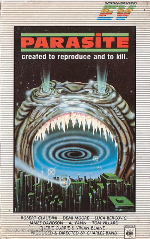 Parasite - British VHS movie cover