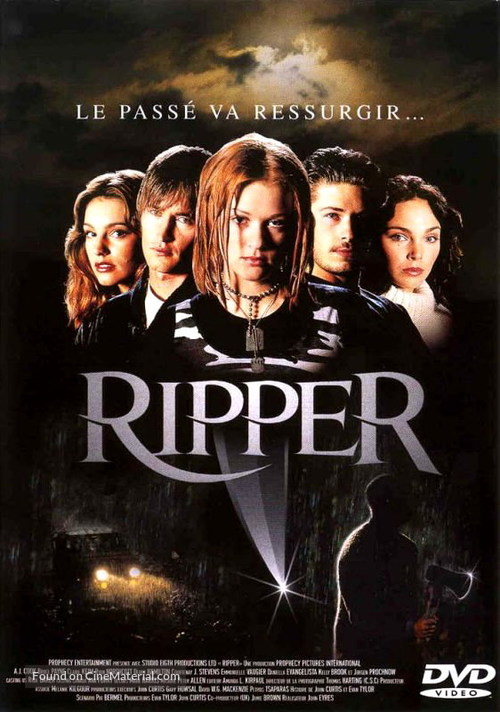 Ripper - French DVD movie cover