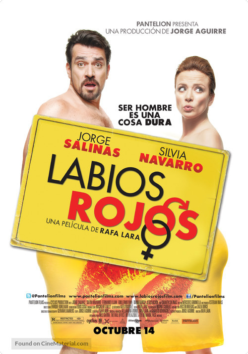 Labios Rojos - Movie Poster