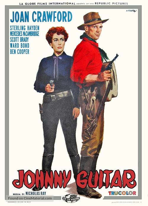 Johnny Guitar - Italian Movie Poster