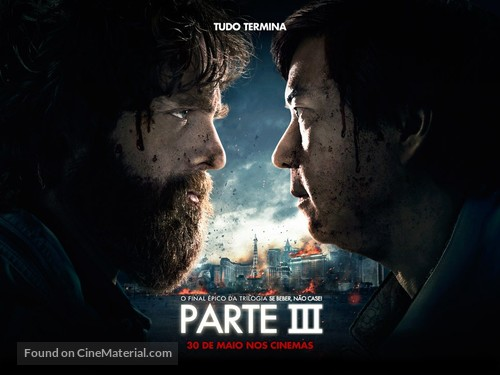 The Hangover Part III - Brazilian Movie Poster