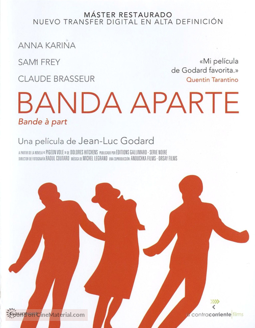 Bande à part - Spanish Movie Cover