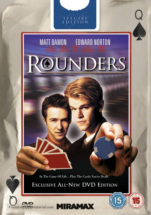 Rounders - British DVD cover