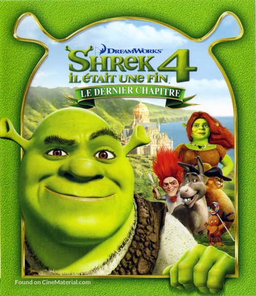 Shrek Forever After - French Blu-Ray cover