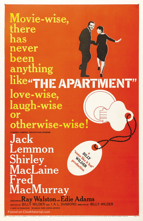 The Apartment - Movie Poster