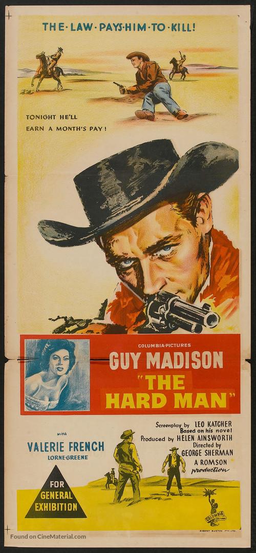 The Hard Man - Australian Movie Poster