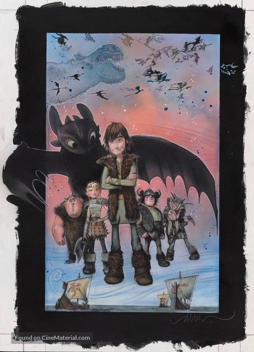 How to Train Your Dragon - poster