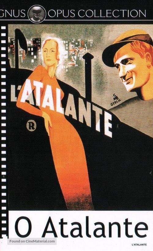 L'Atalante - Brazilian DVD movie cover