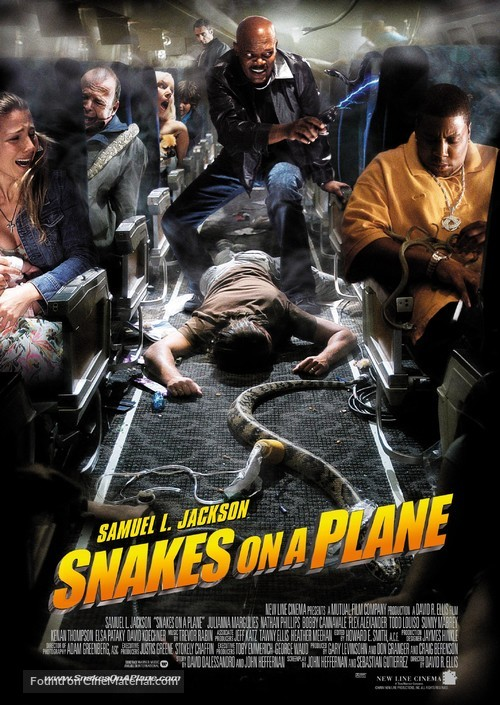 Snakes On A Plane - Movie Poster