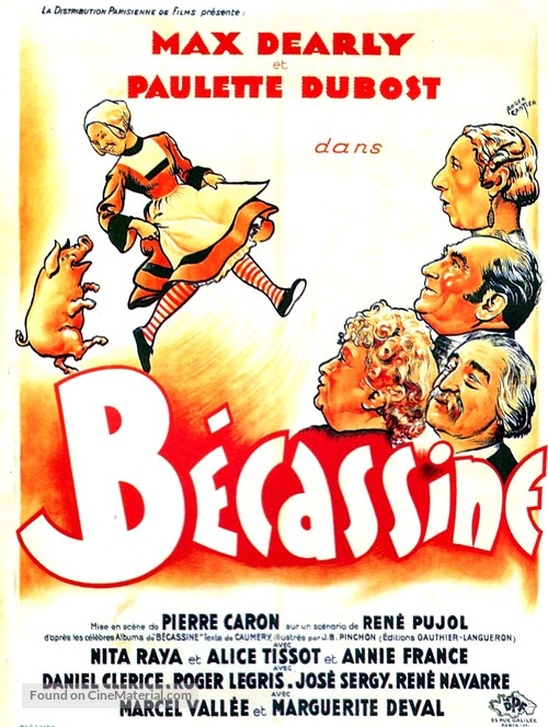 Bécassine - French Movie Poster