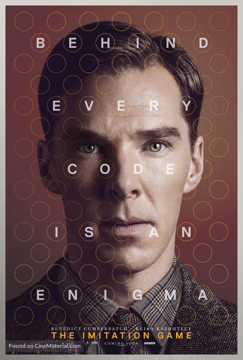 The Imitation Game - British Character movie poster