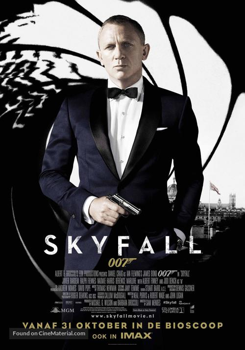 Skyfall - Dutch Movie Poster