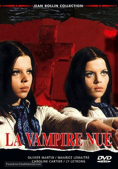 La vampire nue - French DVD movie cover