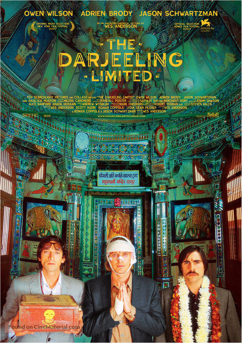 The Darjeeling Limited - Movie Poster