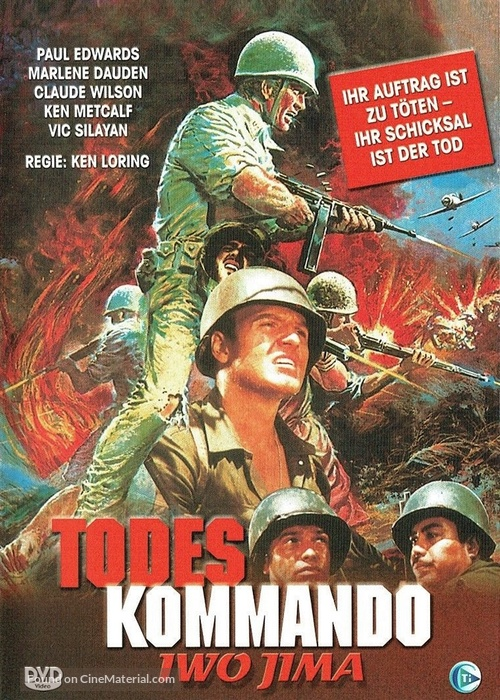 Combat Killers - German DVD cover