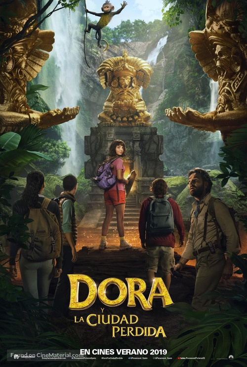 Dora and the Lost City of Gold - Spanish Movie Poster