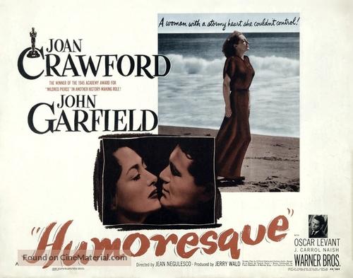 Humoresque - Movie Poster