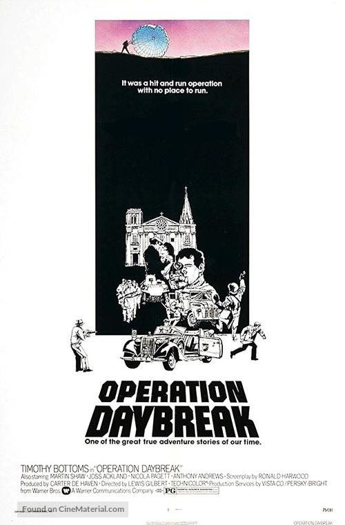 Operation: Daybreak - Movie Poster