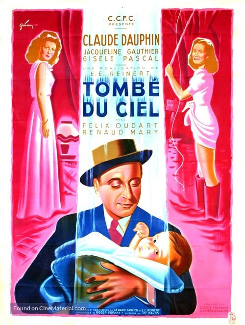 Tombé du ciel - French Movie Poster