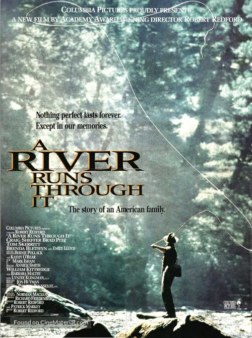 A River Runs Through It - Movie Poster