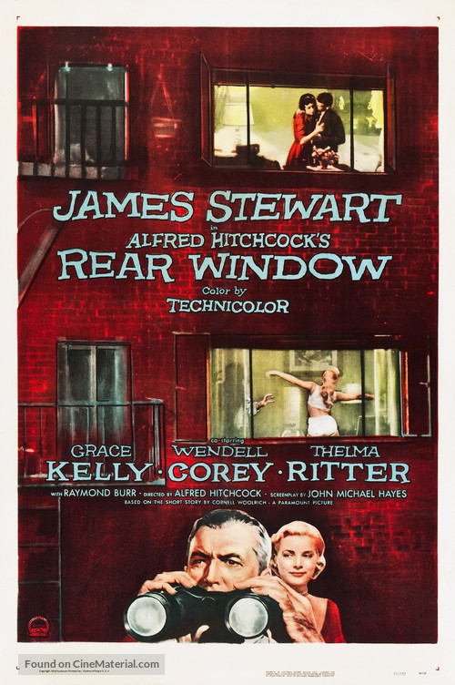 Rear Window - Theatrical movie poster