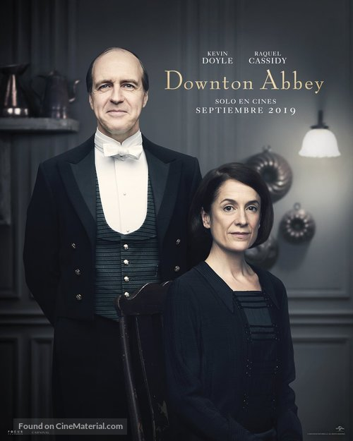 Downton Abbey - Spanish Movie Poster