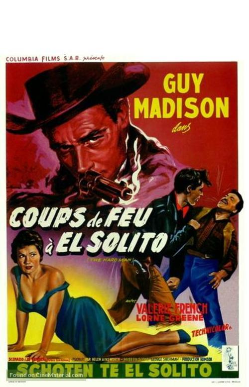 The Hard Man - Belgian Movie Poster