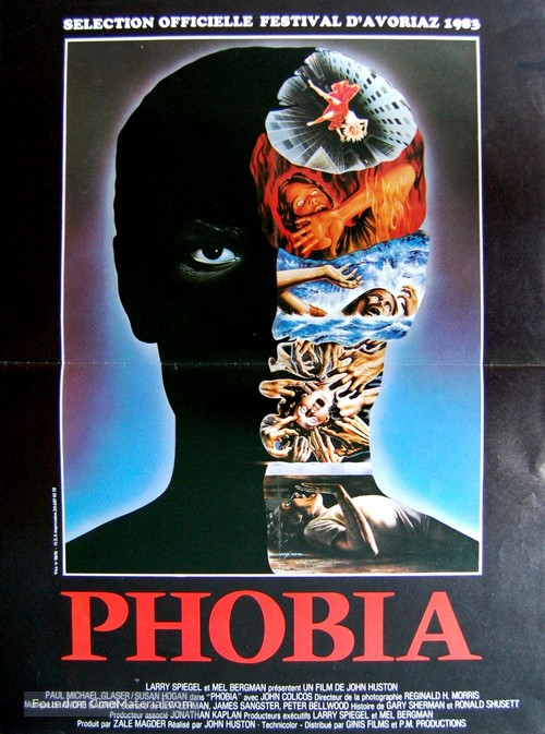Phobia - French Movie Poster